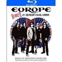 EUROPE - LIVE! AT SHEPHERD'S BUSH, LONDON (BLU-RAY + CD / LIMITED EDITION)