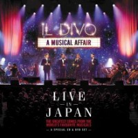 IL DIVO - A Musical Affair - Live In Japan CD+DVD