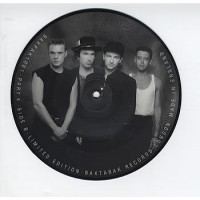 U2 A RARE INTERVIEW WITH BONO PHILADELPHIA 1987 - PICTURE DISC