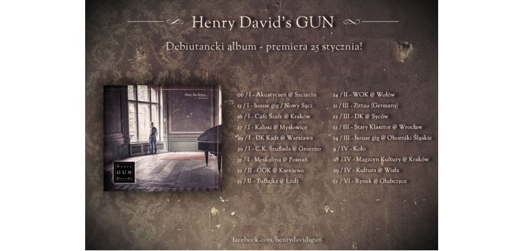 HENRY GUN DAVID'S – Over the fence … and far away